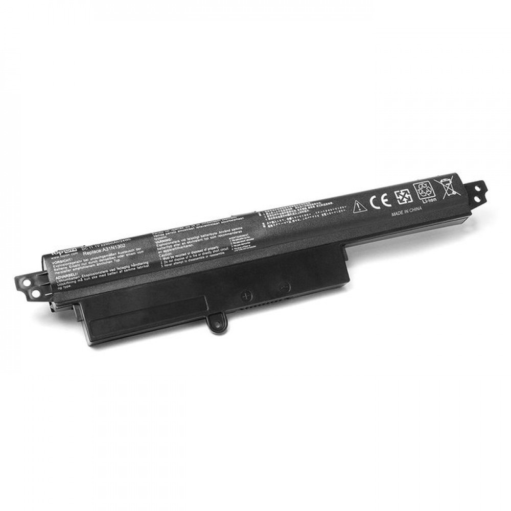 Аккумулятор TopON TOP-X200CA 11.1V 2200mAh для ASUS X200CA/X200LA/X200MA / VivoBook F200CA Series