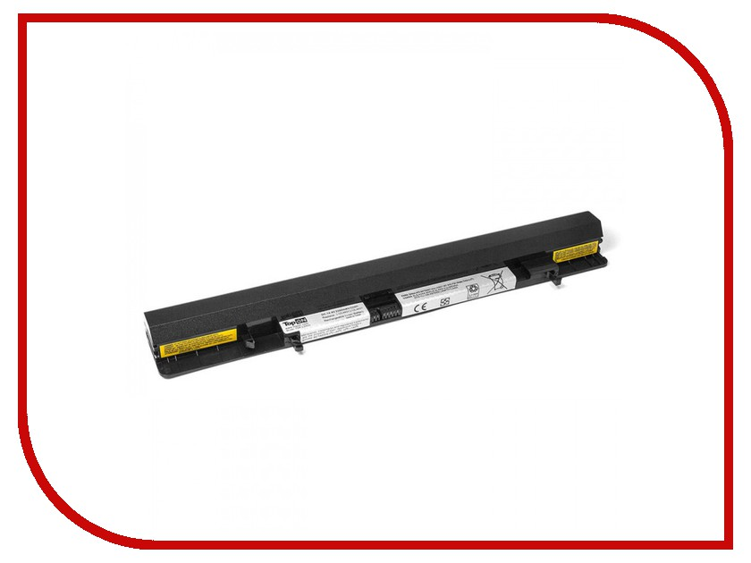 Аккумулятор TopON TOP-LS500 14.4V 2200mAh для Lenovo IdeaPad Flex 14/15/S500 Series аккумулятор topon top k53 для 10 8v 4400mah pn a32 k53 a42 k53 a43ei241sv sl