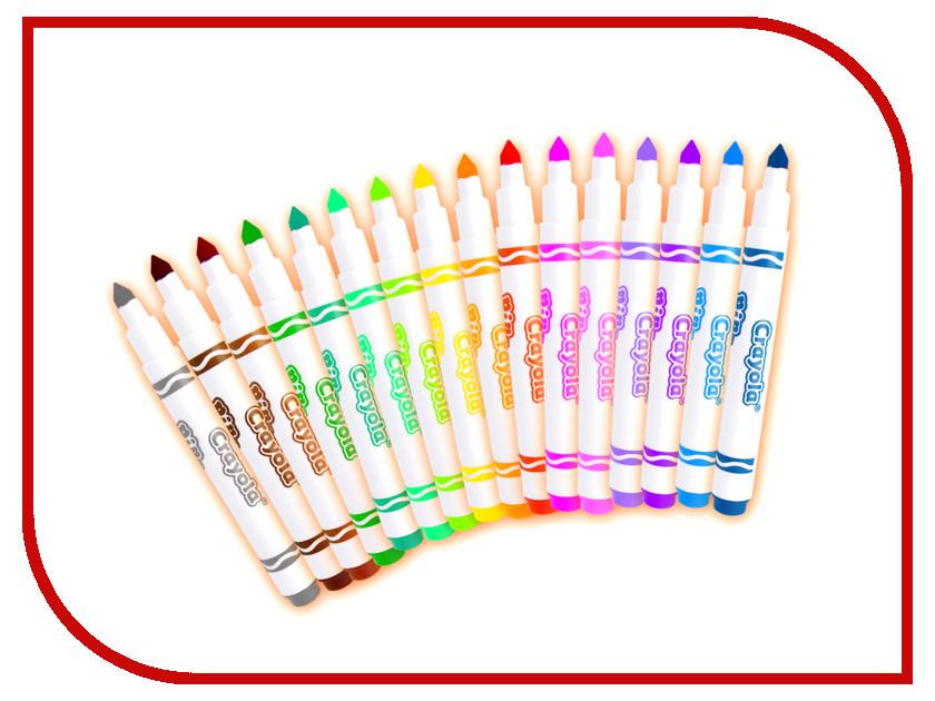 Фломастеры Crayola 16 цветов 58-5055 фломастеры crayola 10 цветов 58 5053