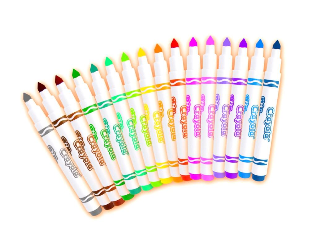Фломастеры Crayola 16 цветов 58-5055