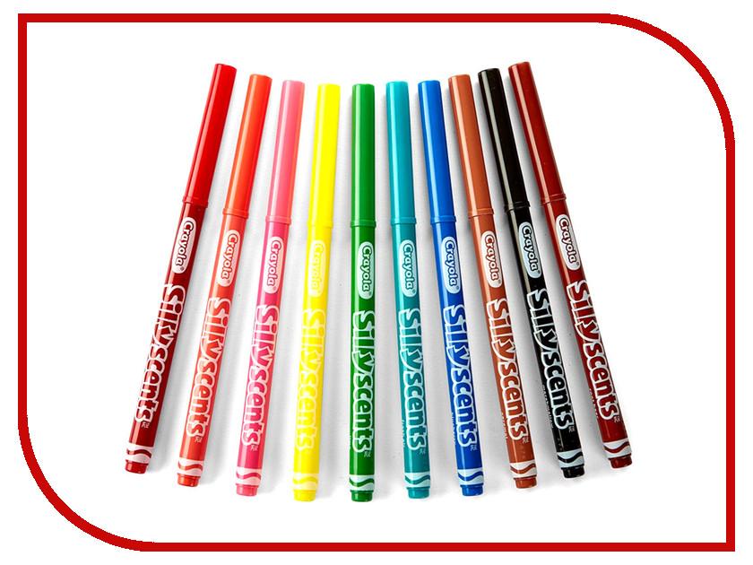 Фломастеры ароматизированные Crayola 10 цветов 58-5071 фломастеры crayola 10 цветов 58 5053