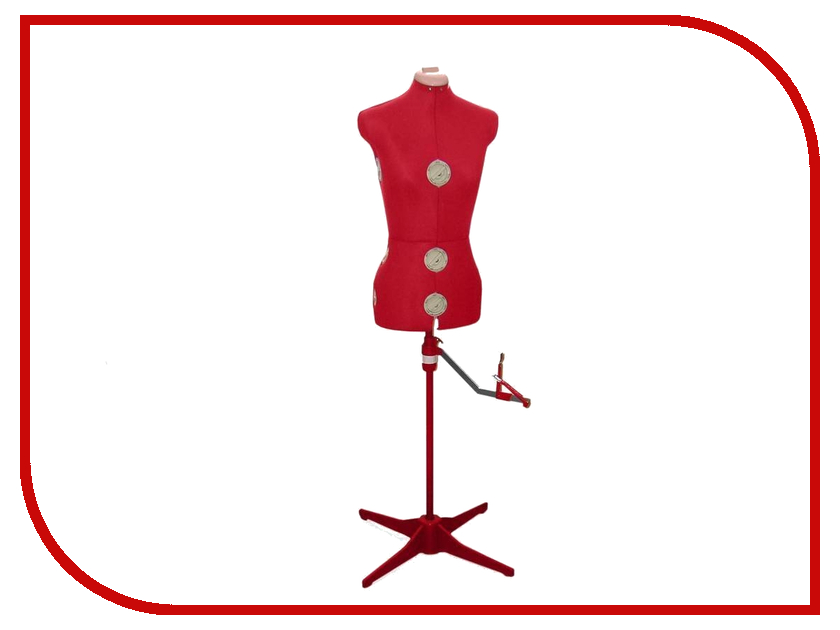 Манекен раздвижной Siera Dressform Mod.151 W 30-37 / B 40-46 2015 151