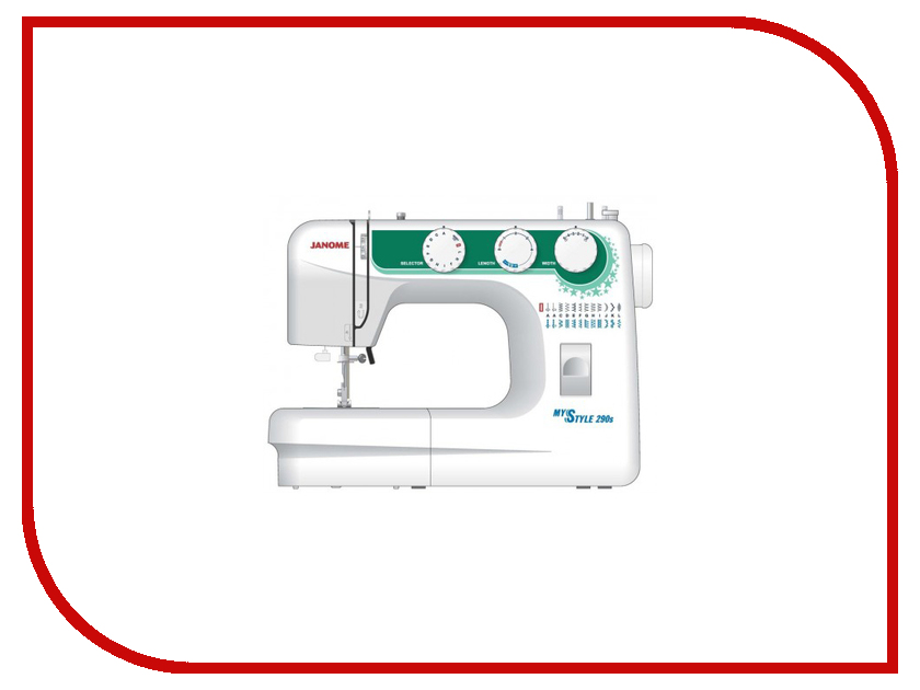 Швейная машинка Janome My Style 290s швейная машинка janome sew mini deluxe
