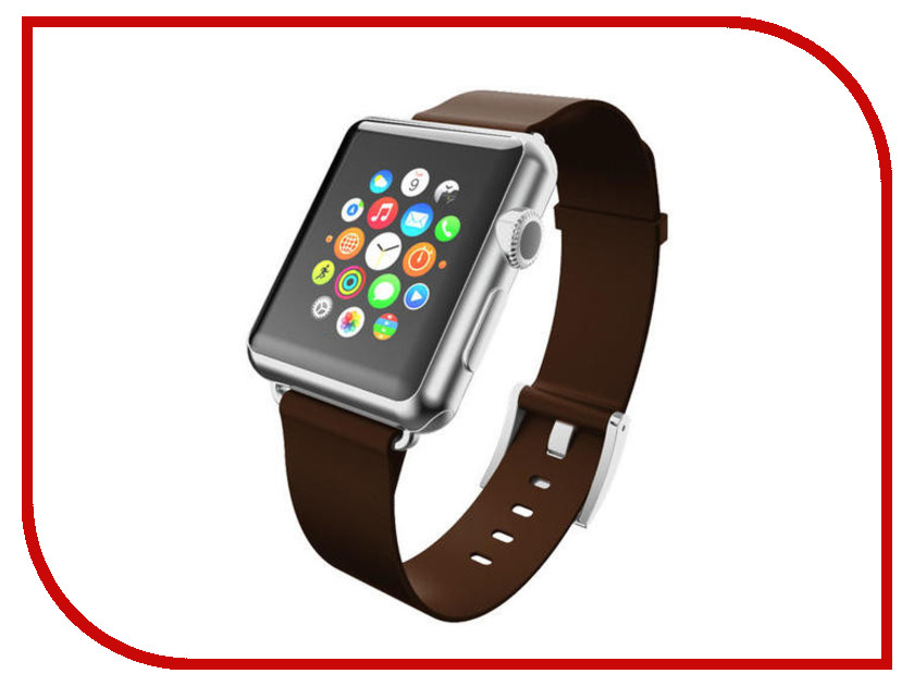 Аксессуар Ремешок Incipio APPLE Watch 42mm Premium Leather Watch Band Brown WBND-009-ESPRSO