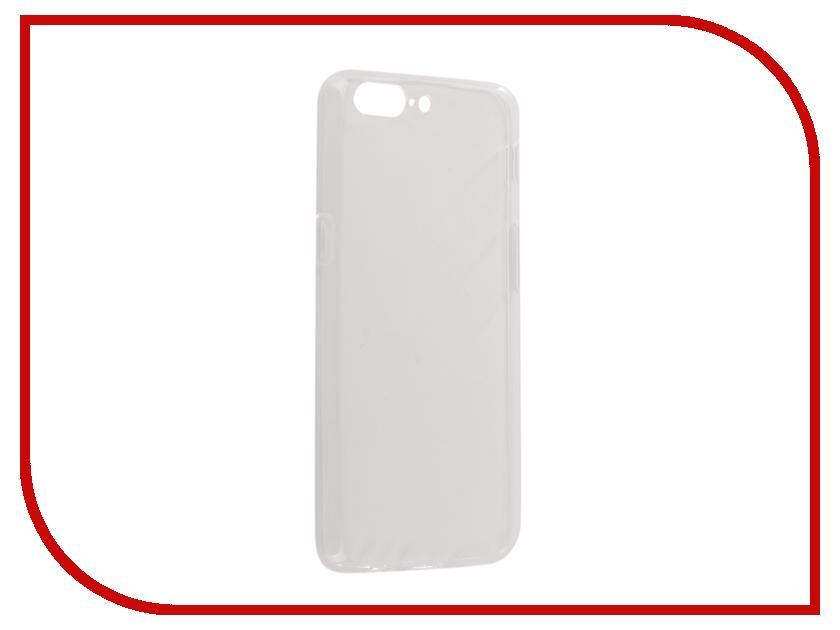 Аксессуар Чехол OnePlus 5 Svekla Silicone Transparent SV-ONP5-WH аксессуар чехол xiaomi mi mix 2 svekla silicone transparent sv ximimix2 wh