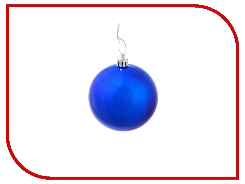 все цены на Украшение СИМА-ЛЕНД Набор шаров Жемчужная капель Blue 8шт 1009341