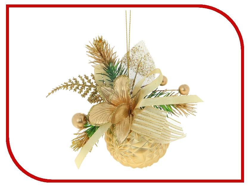 Украшение СИМА-ЛЕНД Декорированный шар Ажурное золото 705773 цена 2017