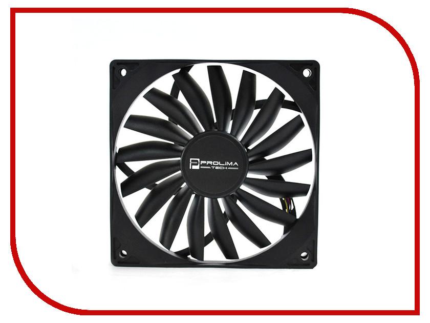 Вентилятор Prolimatech Ultra Sleek Vortex 120mm PWM вентилятор aerocool shark fan white edition 120mm en55505