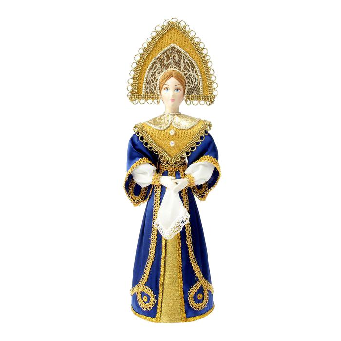 Игрушка СИМА-ЛЕНД Девушка в синем платье 1538468