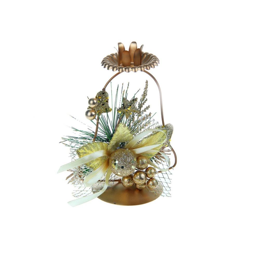 цена СИМА-ЛЕНД Подсвечник на одну свечу Колокольчик 2356897 онлайн в 2017 году
