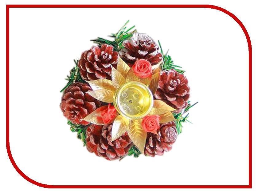 Украшение СИМА-ЛЕНД Набор подсвечников Цветочный 2шт 2377899 продажа подсвечников