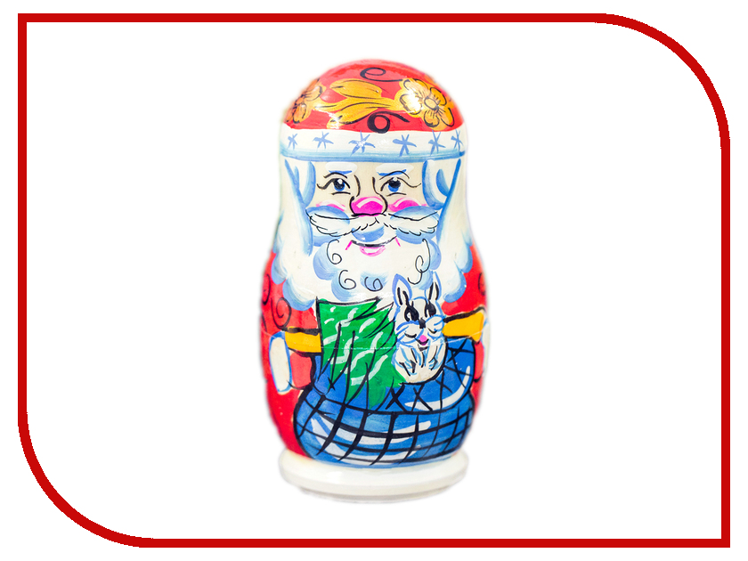 Новогодний сувенир СИМА-ЛЕНД Матрешки Деде Мороз с Ёлкой 2879927