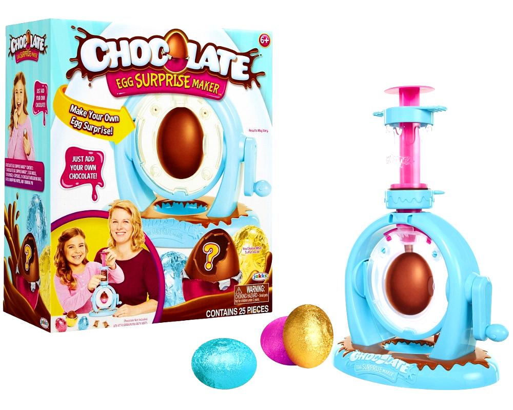 Набор для изготовления шоколадного яйца Chocolate Egg Surprise Maker