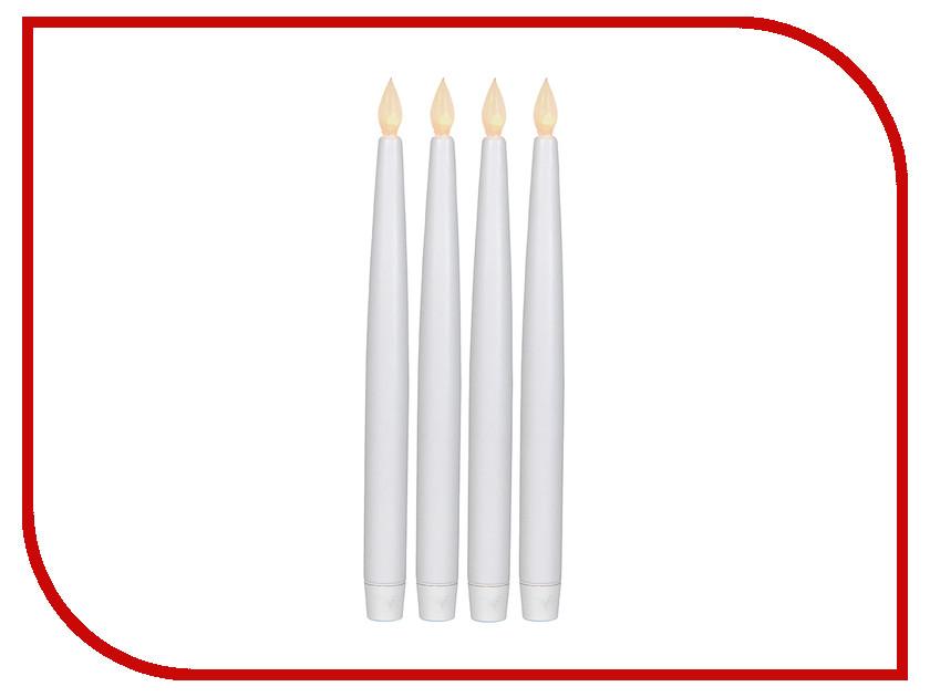Светодиодная свеча Star Trading AB Antique 4шт White 066-31