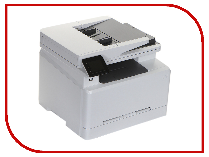 МФУ HP Color LaserJet Pro MFP M281fdn hewlett packard hp color laserjet pro mfp m277n цветной лазерный мфу