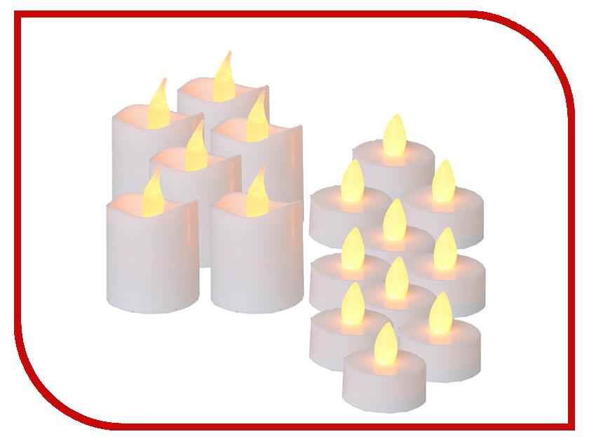 Светодиодная свеча Star Trading LED 6шт / 10шт White 067-32