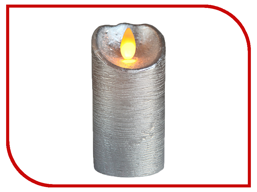 Светодиодная свеча Star Trading AB LED Glow WAX Silver 068-80