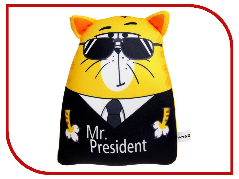 Игрушка антистресс КОТЭ Mr. President 1331829 хочу много денег котэ