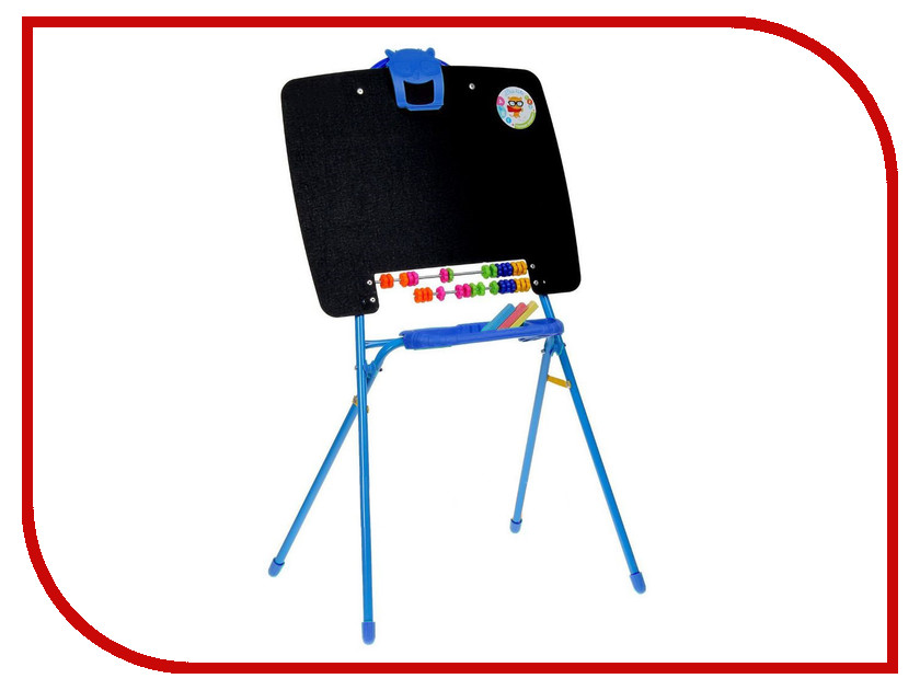 Набор Nika M Мольберт односторонний Blue 1505061 мольберт купить недорого в воронеже