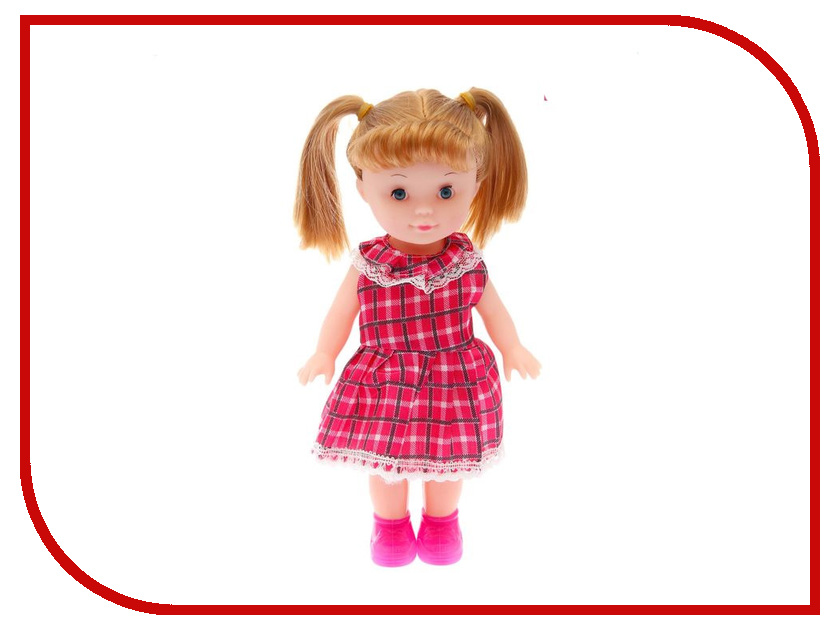 Кукла Маленькая Леди Красотка в клетчатом платье 1691883