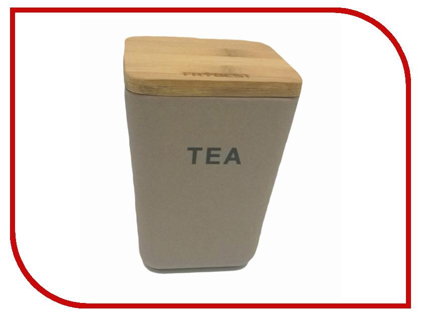 Контейнер для сыпучих продуктов Frybest BM-06-2 масленка frybest bamboo цвет коричневый bm 02 1