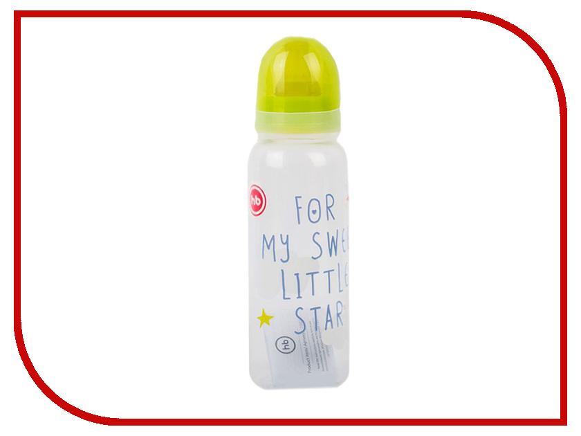 Happy Baby Бутылочка с латексной соской 250ml Lime 10018
