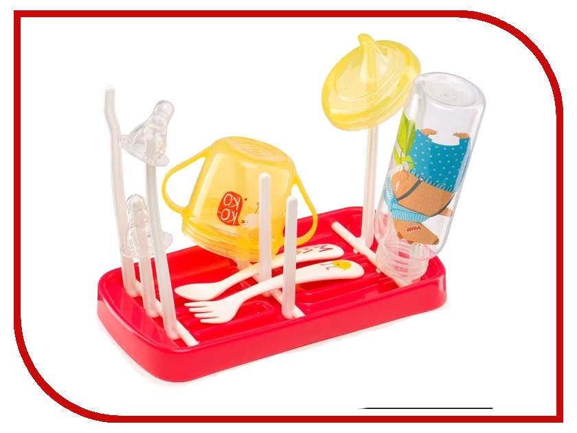 Сушка для бутылочек и аксессуаров Happy Baby 33010 happy baby happy baby развивающая игрушка руль rudder со светом и звуком