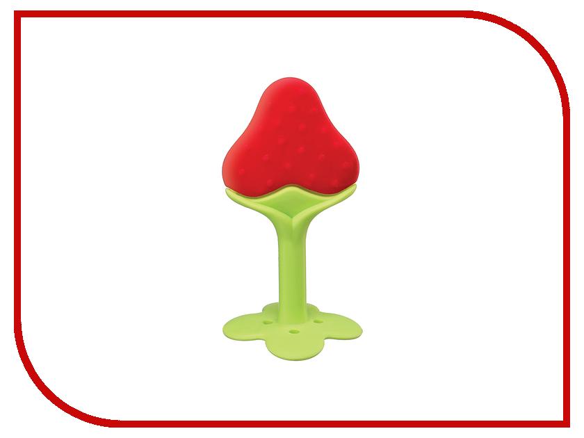 Прорезыватель Happy Baby 20025 Red тарелка с двумя крышками happy baby 15021 comfy plate red 4690624016561