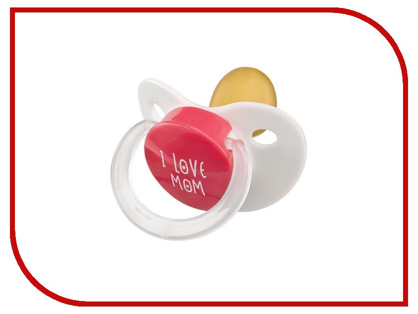 Соска пустышка латексная Happy Baby Red 13016