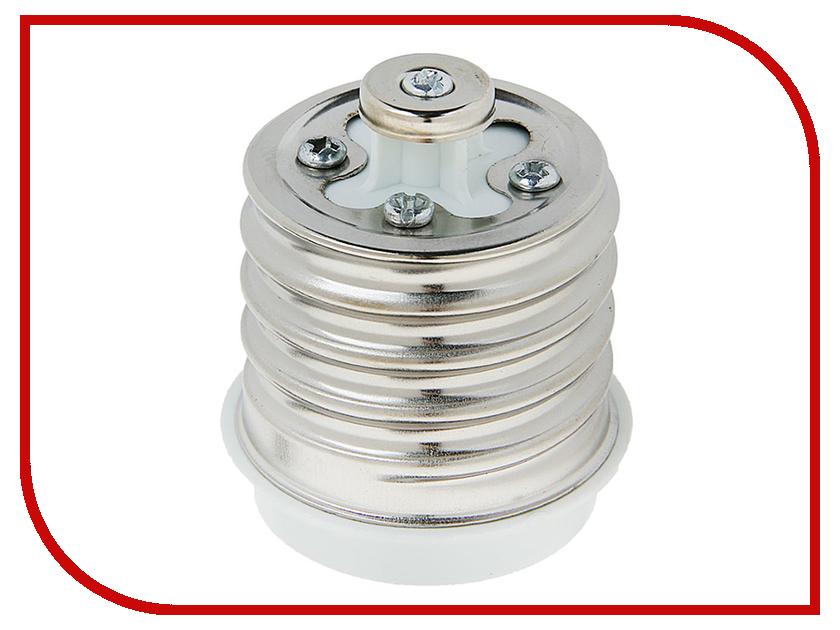 Переходник TDM-Electric E40-E27 White SQ0335-1003