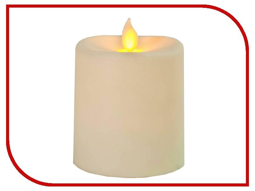 Светодиодная свеча Star Trading AB LED Glim Beige 063-88