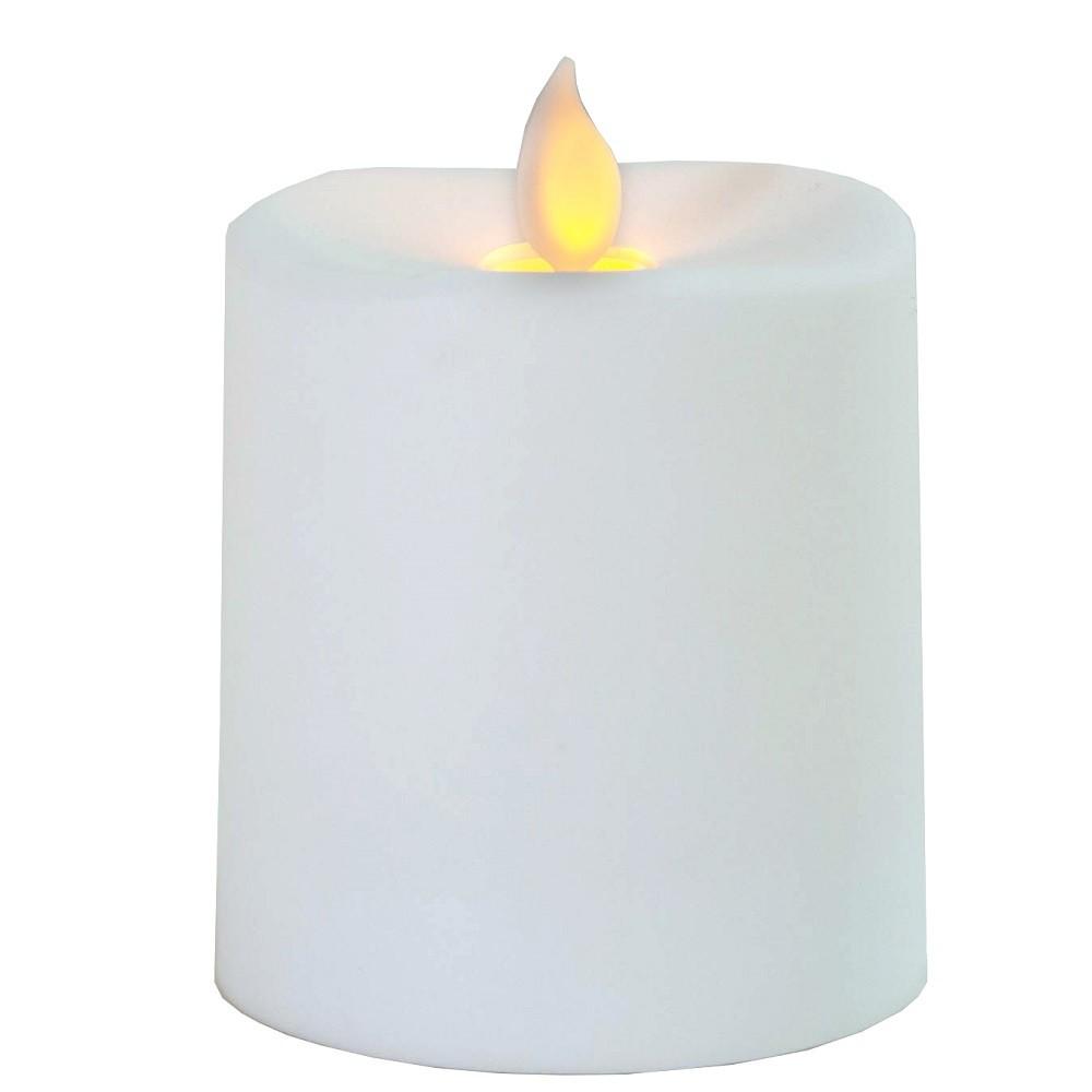Светодиодная свеча Star Trading LED Glim White 063-86 светодиодная свеча star trading glow wax beige 068 83