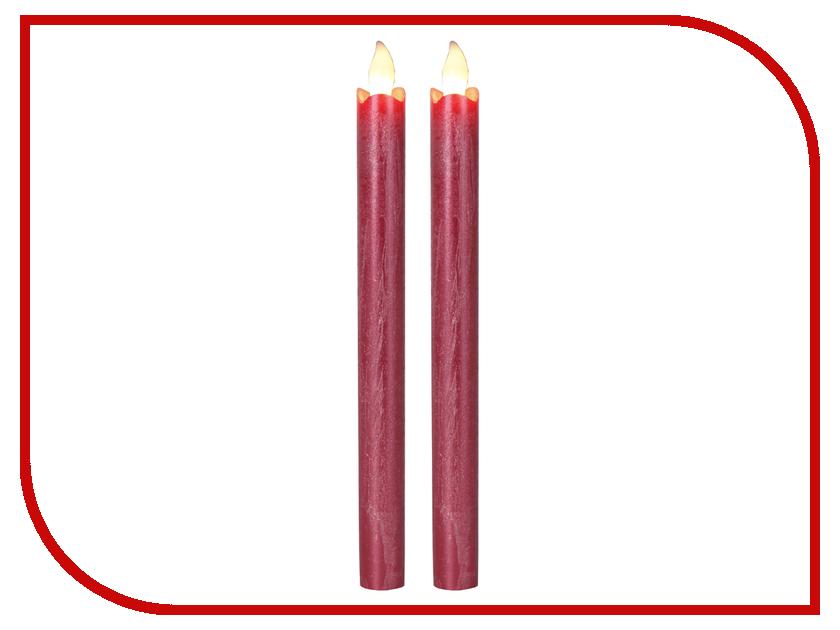 Светодиодная свеча Star Trading AB LED Press 2шт Red 063-62