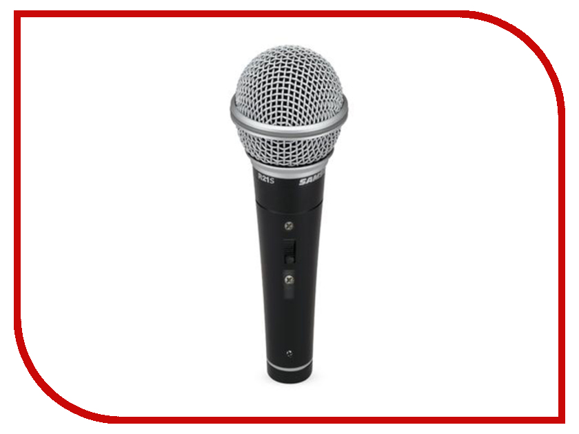Микрофон Samson R21S микрофон samson go mic connect usb