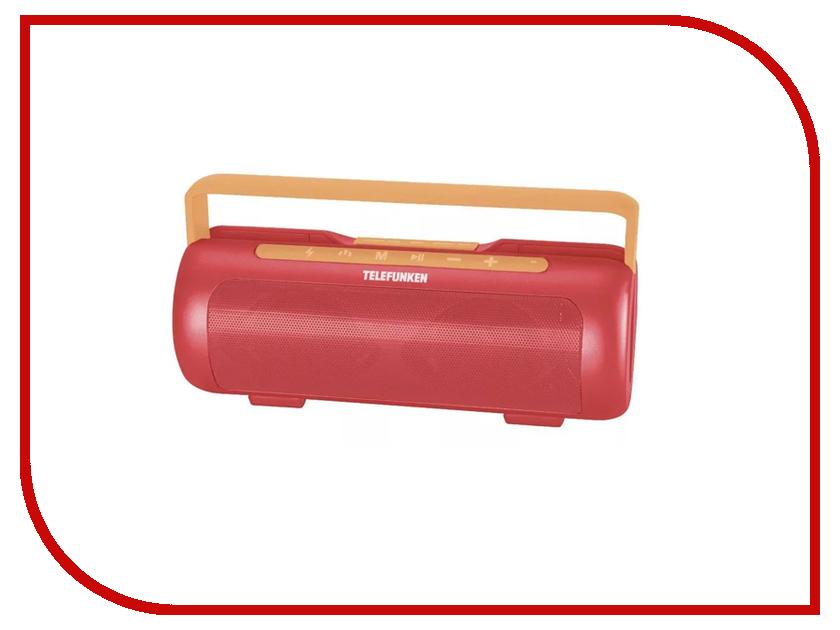 Колонка Telefunken TF-PS1231B Coral-Red