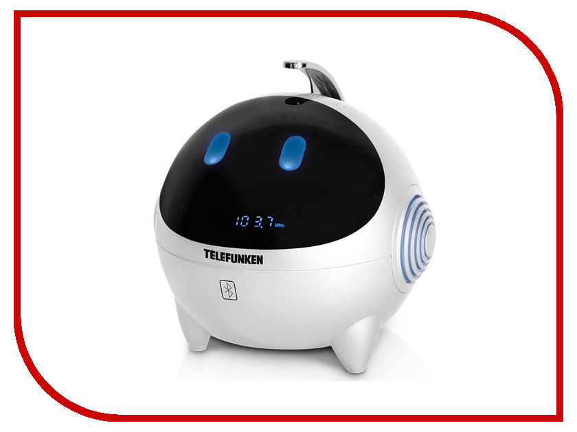 Радиоприемник Telefunken TF-1634UB White-Blue
