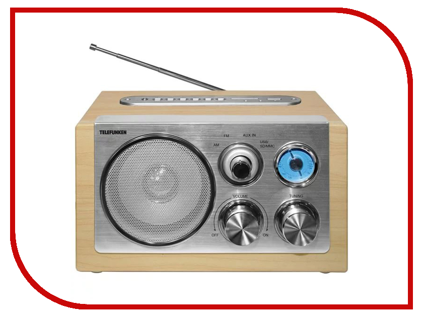 Радиоприемник Telefunken TF-1638U Light Wood