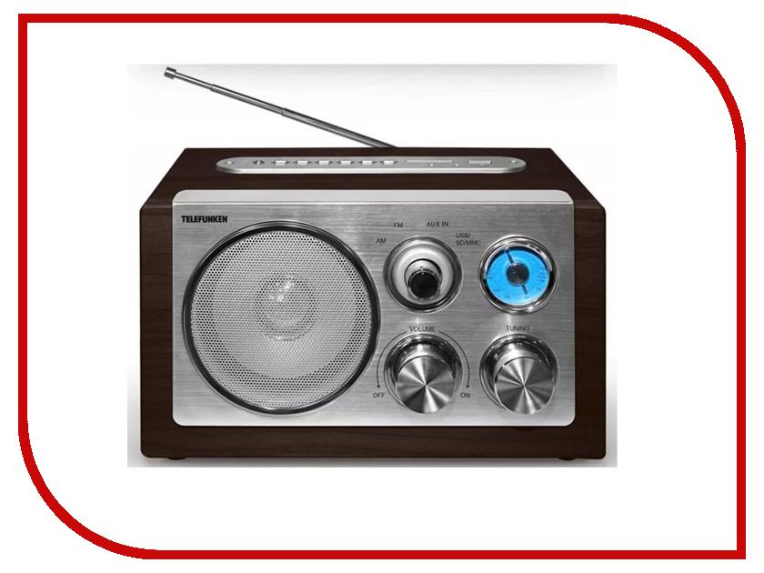 Радиоприемник Telefunken TF-1638U Dark Wood