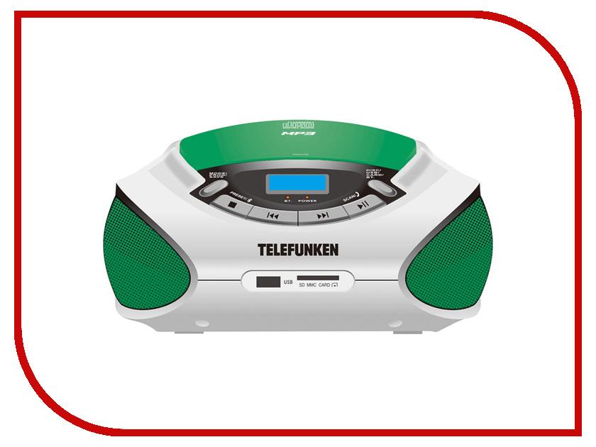все цены на Радиоприемник Telefunken TF-CSRP3492B Green-White онлайн