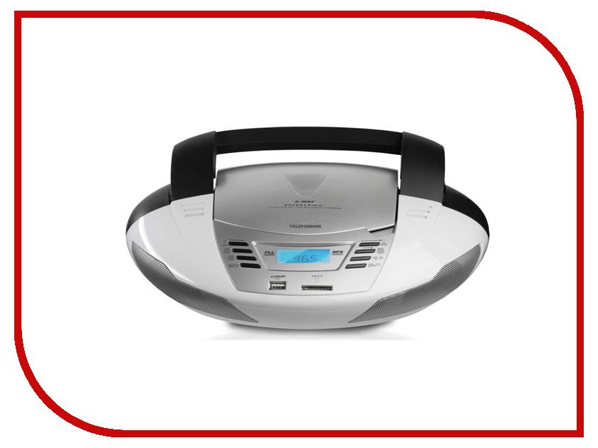 все цены на Радиоприемник Telefunken TF-CSRP3480 White онлайн