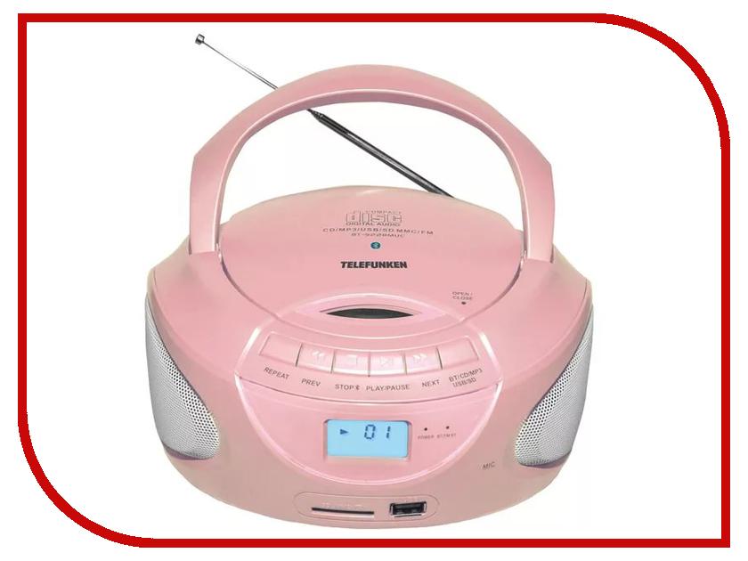 Радиоприемник Telefunken TF-CSRP3490B Pink