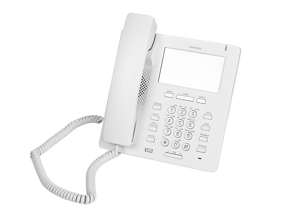 VoIP оборудование Panasonic KX-HDV330RUW