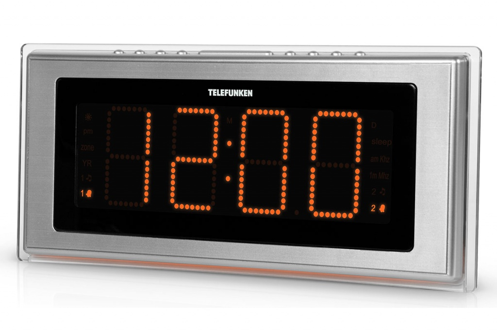 Радиоприемник TELEFUNKEN TF-1541 Black-Orange