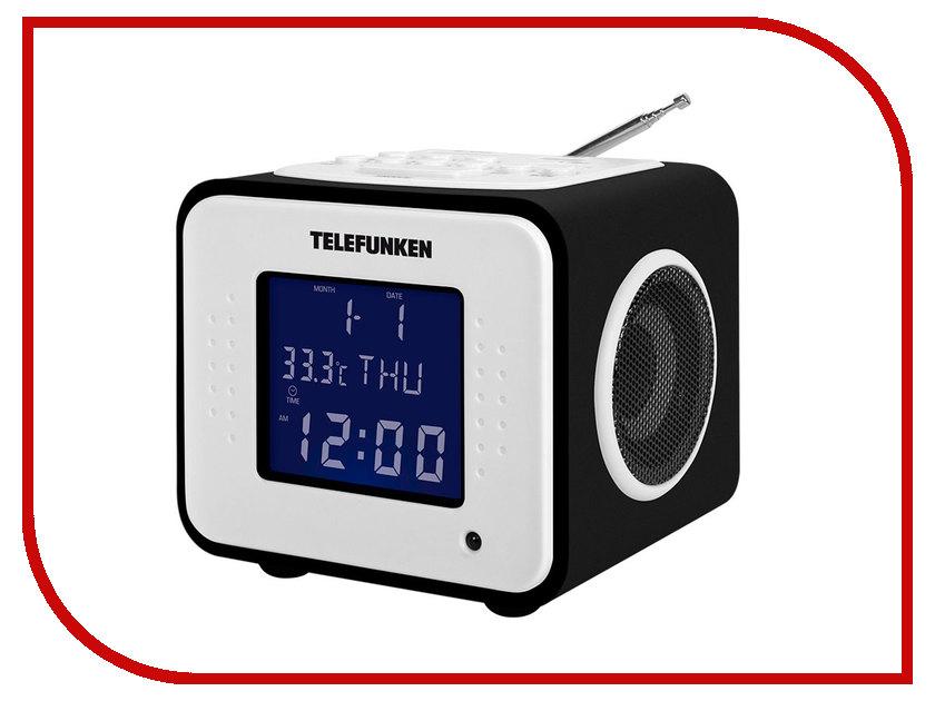 Радиоприемник Telefunken TF-1575U Black Wood-Purple цена и фото