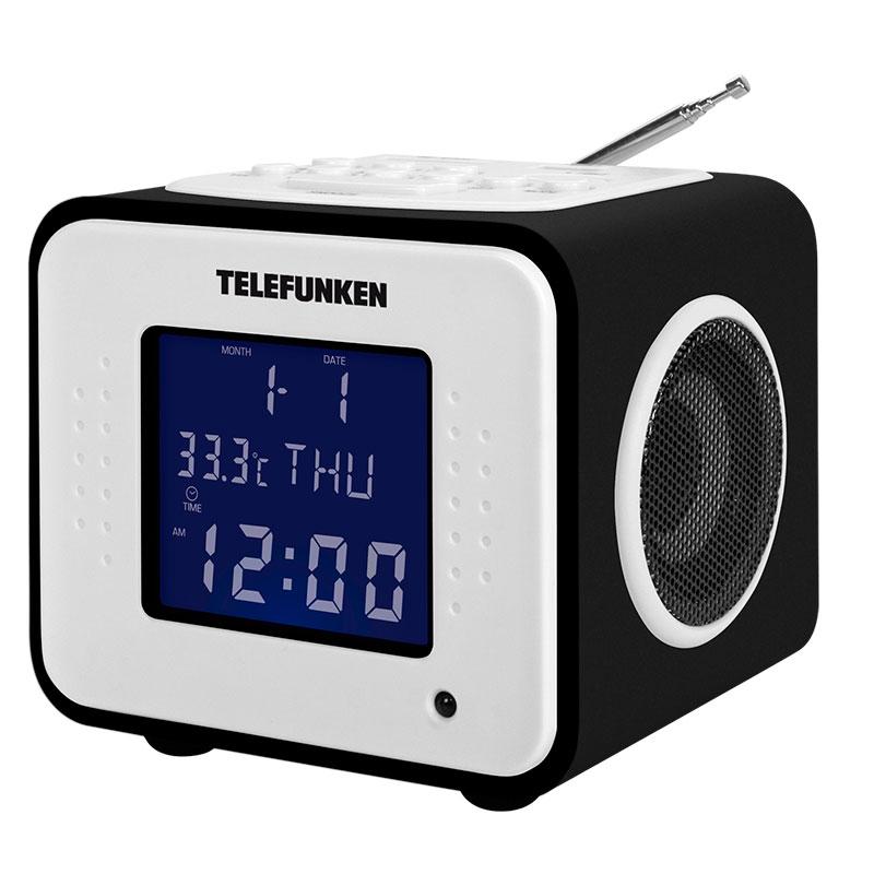 Часы Telefunken TF-1575U Black Wood-Purple