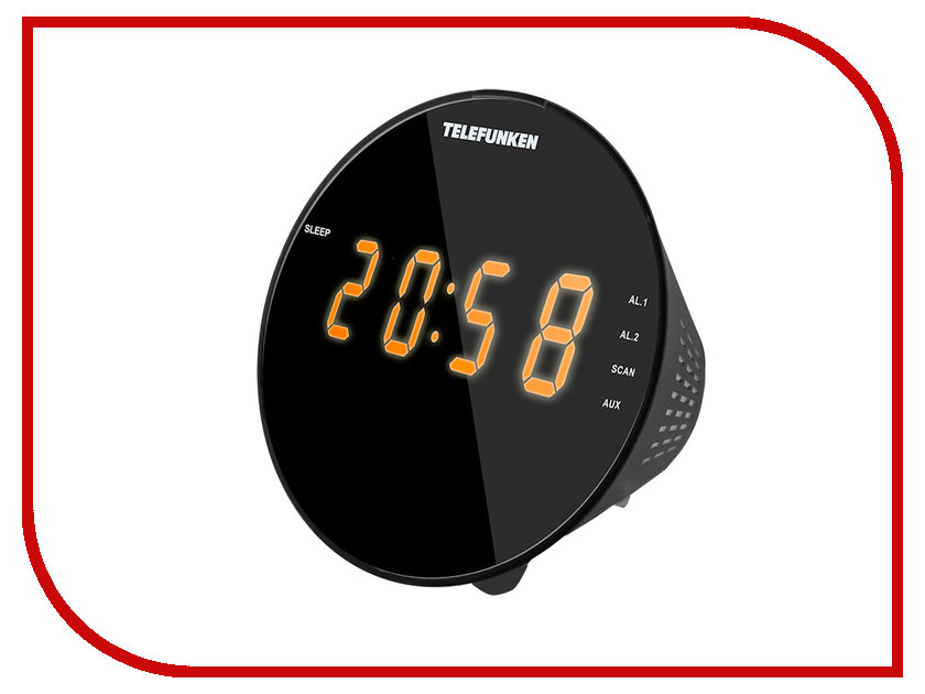 Радиоприемник Telefunken TF-1572 Black-Amber