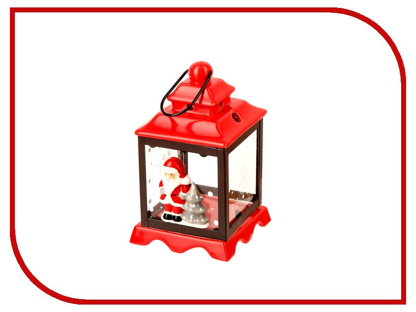 Новогодний сувенир Kaemingk Новогодний огонек Снеговик 633727 kaemingk дружелюбный снеговик в колпаке 18х24 см 667656
