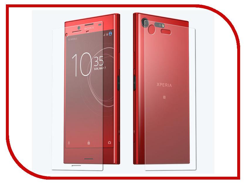 Аксессуар Защитная пленка Sony G8142 Xperia XZ Premium LuxCase Front&Back антибликовая 52844 защитная пленка для eten m500 brando антибликовая