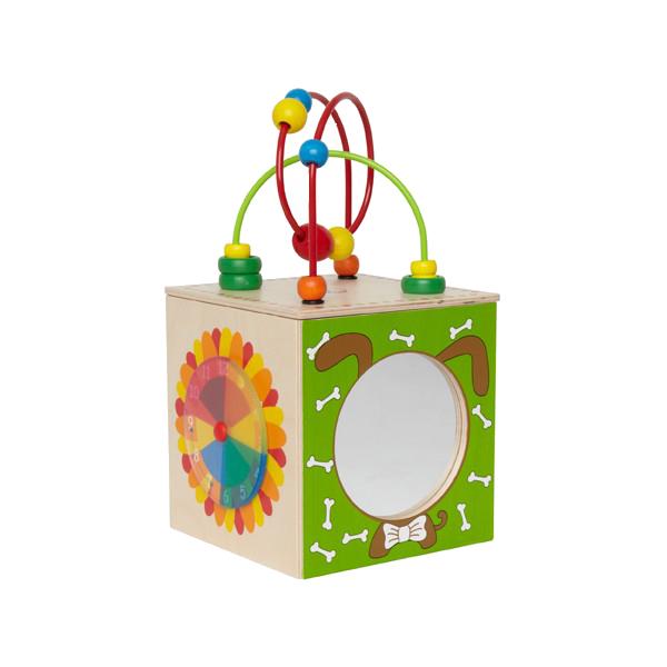 все цены на Развивающая игрушка Hape Активный куб Е1802 онлайн