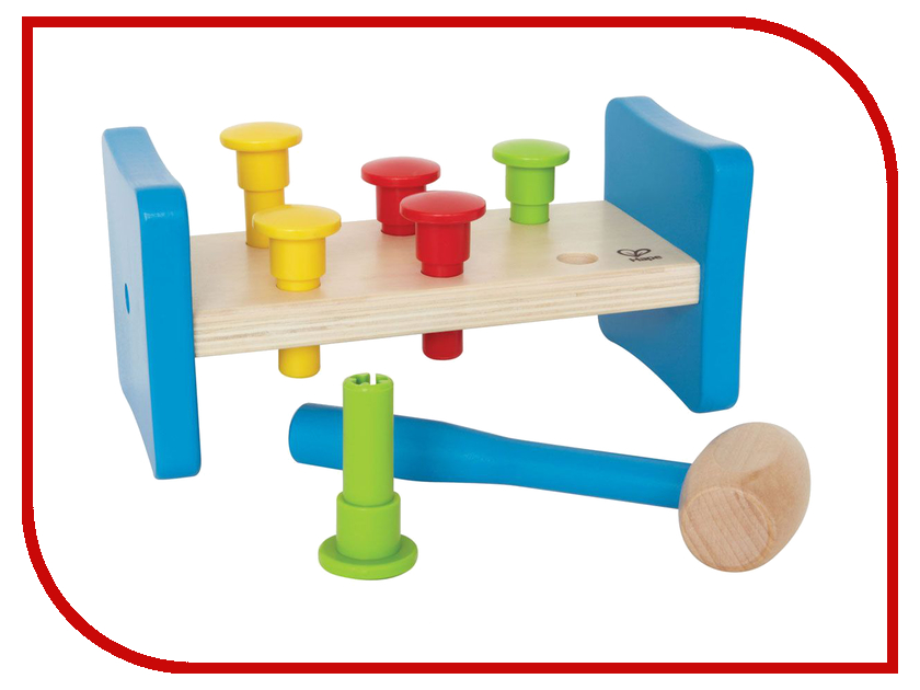 Игрушка Hape Гвоздики Е0503 игрушка hape овечка е1049